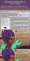 Character Painting Tutorial Part 3 by Risachantag