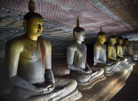 Dambulla Cave Temple by CitizenFresh