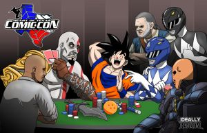 Power Rangers Have the Best Poker Faces by ideallyRANDOM