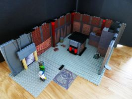 LEGO DOOM MARS in Bricks STORAGE ROOM by Digger318