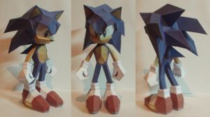 Sonic Papercraft by 3dpapert
