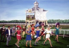 Ladies Day at the Races by Cellarvee