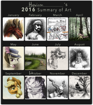 2016 Summary of Art by Hewison