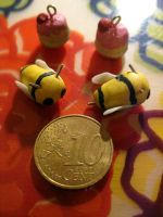 Derpybees and Cupcake Charms by Sigilien