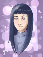 Byakugan Princess by Ladywiththeface