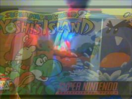 SUPER MARIO WORLD 2 YOSHIS ISLAND BIG BOWSER DANCE by JlinkProductions