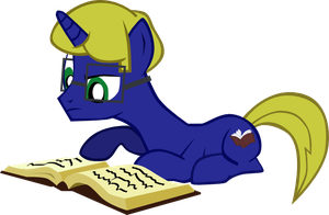 Avid Reader (OC Request) by Sakenichi