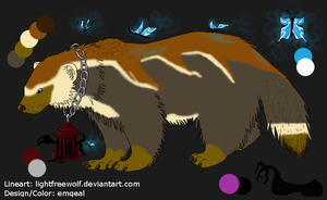 Wolverine Adoptable SOLD by emgeal