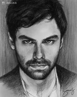Aidan Turner by iamjoanna