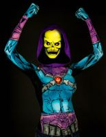 Skeletor Bodypaint by KayPikeFashion