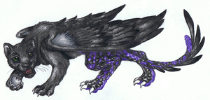 Panther Dragon by Suzie-Fish