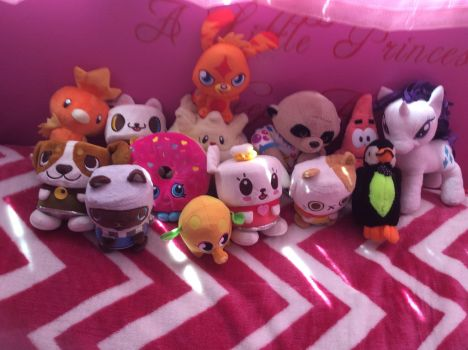 Plushie collection 2 by 123emilymason