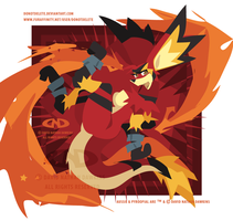 Aussie Flame Backflip - Colour Draft by DoNotDelete