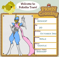 PKMN-Crossing App Bishop by TwinZip