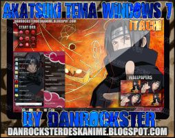 Itachi Theme Windows 7 by Danrockster