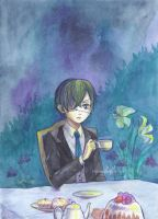 midnight tea party Ciel by frassino