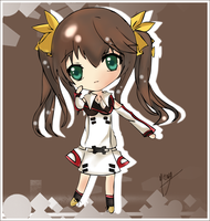[ Prize ] Chibi Rin - Infinite Stratos by CaptainMisuzu
