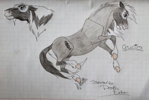 Death Eater the Wild Mustang by StarCrossedPsycho