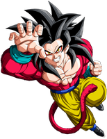 Ssj4 Goku by maffo1989