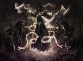Creature Spellcaster by ianessom