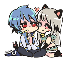 Personal Art: Couple Chibi by Chiechu