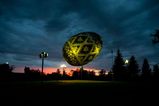 Vegreville Pysanka by Stephchantastic