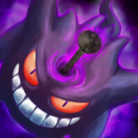 30 Days Challenge #18 - Gengar used Curse by Karol-Wolf