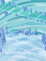 The Icy background by ShadowFox777