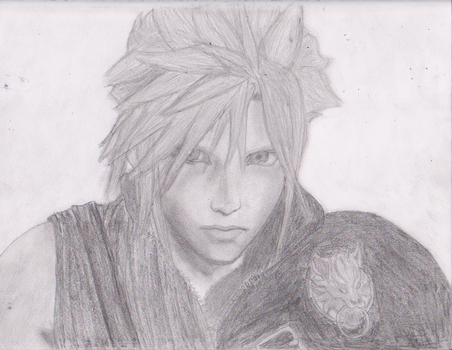 Cloud Strife New 2 by StephenDarvilleArt