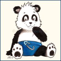 Newborn Panda by Cataclysm-X