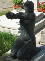 Stock 89 - Begging woman statue 4 by MariaBilinski
