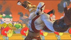Kratos in PlayStation All Star Battle Royale by TimothyB25