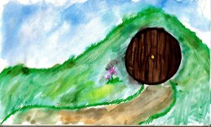 Hobbit Hole by KrazyKell