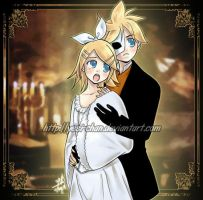 Rin n Len Phantom of the Opera by yesi-chan
