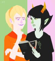Wherein Kanaya finds a book on human vampires by Arcturian627