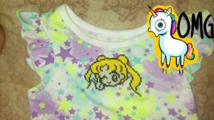 Sailor Moon Usagi Cross Stitch (better look) by Marieluna83