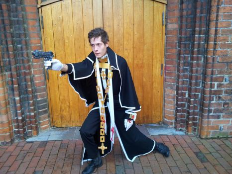 Trinity Blood. Father Tres Photoshoot. by theblackpox