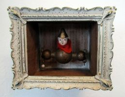 Assemblage: The Flying Monk by bugatha1