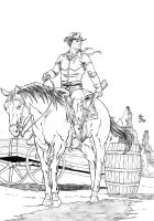 western pin up by msalaza