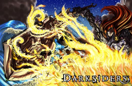 SUPER END: Darksiders Contest by rockandtree