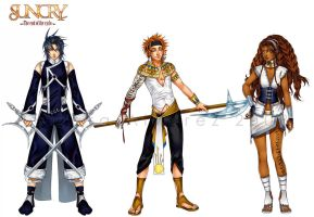 SUNCRY: Characters sheet by Noiry