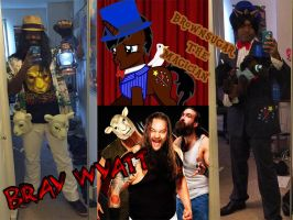 Newest Worked on Cosplays of 2014 by TheBlackmanBrony