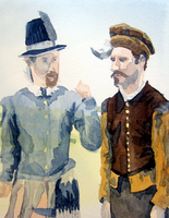 Mitchell and Webb by egonSchiele