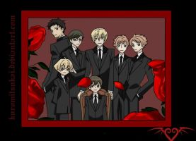 The Ouran Host Club by HostClub