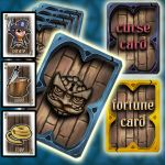 Board game Cards Design by AtomiccircuS