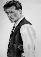 John Dillinger by abish