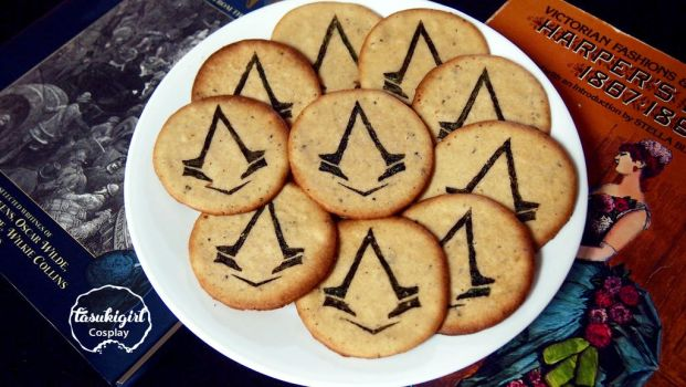 Assassin's Creed Syndicate cookies by tasukigirl