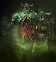 Dota 2 Undying by d-k0d3