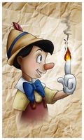 Pinocchio by Jullelin