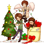 A Very Supernatural Christmas! by Maximum-Delusion
